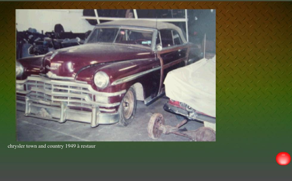 Auto9restauration vente voitures collection am ricaines for Garage restauration voiture ancienne nord