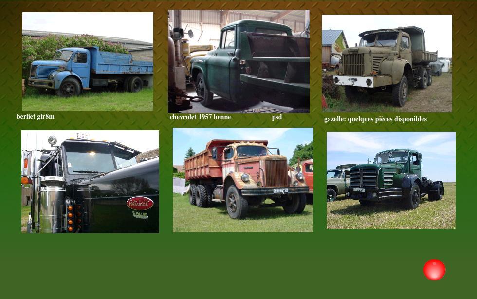 Camions 1 restauration vente voitures collection berliet glc glr gazelle gbc8 tbo gbo bernard - Garage restauration voiture ...